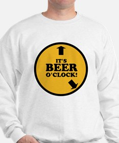 It's Beer O'clock Sweatshirt