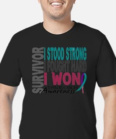 Survivor 4 Thyroid Cancer Shirts and Gifts T-Shirt