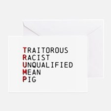 T is for Traitorous Greeting Cards