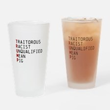 T is for Traitorous Drinking Glass
