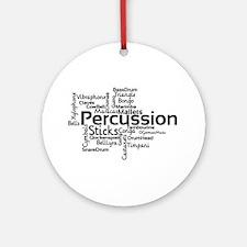 Percussion Round Ornament
