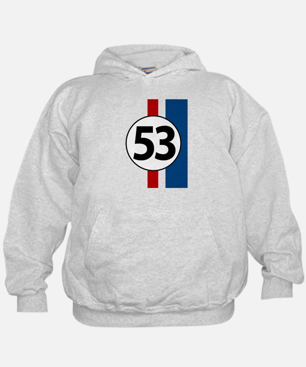 53 red and blue stripe Sweatshirt