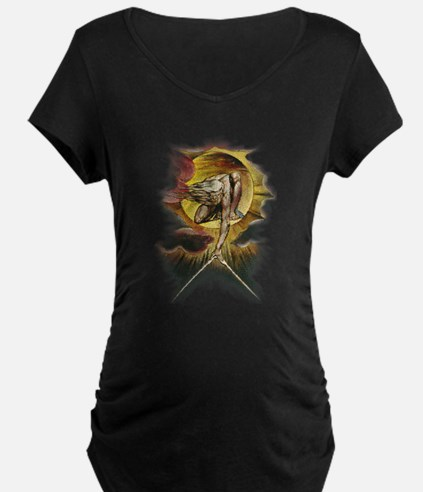 William Blake's Ancient of Days Maternity T-Sh
