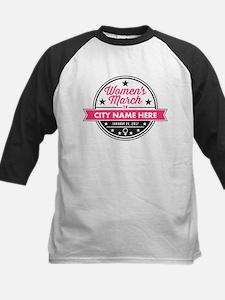 Womens March Personalized Kids Baseball Jersey