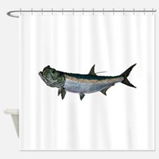 FLATS Shower Curtain