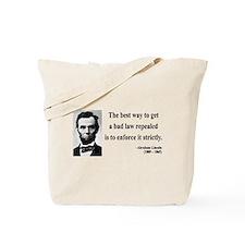 Abraham Lincoln 7 Tote Bag