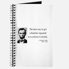 Abraham Lincoln 7 Journal
