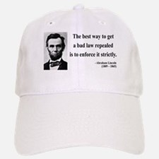Abraham Lincoln 7 Baseball Baseball Cap