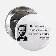 "Abraham Lincoln 7 2.25"" Button"