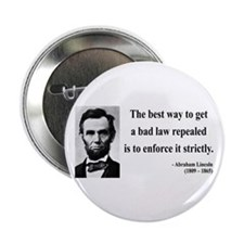 "Abraham Lincoln 7 2.25"" Button (10 pack)"