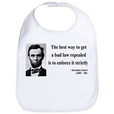 Abraham Lincoln 7 Bib