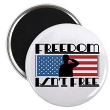 "Freedom Isn't Free 2.25"" Magnet (10 pack)"