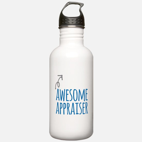 Awesome appraiser Water Bottle
