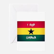 I Rep Ghana Greeting Cards