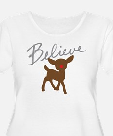 Believe Plus Size T-Shirt
