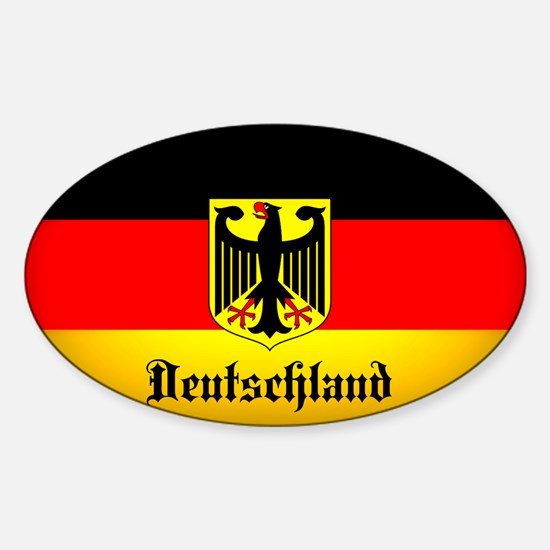 Deutschland Flag Coat of Arms Decal