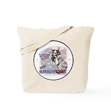 SCHNAUZERcrat Tote Bag