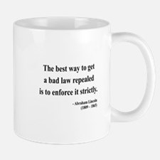 Abraham Lincoln 7 Mug
