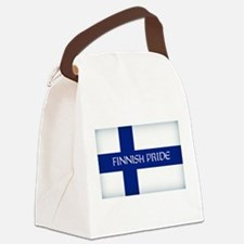 Finnish Pride Canvas Lunch Bag