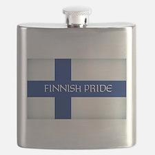Finnish Pride Flask