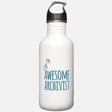Awesome archivist Water Bottle