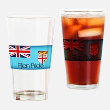 Fijian Pride Drinking Glass
