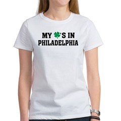My Shamrock's in Philadelphia Women's T-Shirt