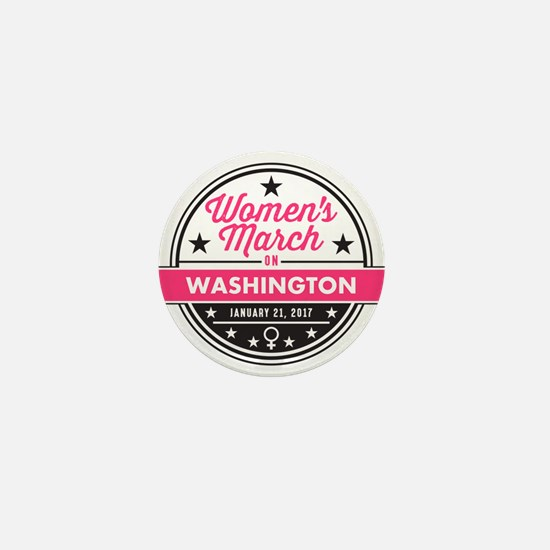 March on Washington Mini Button