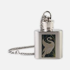 Cute Wild geese Flask Necklace