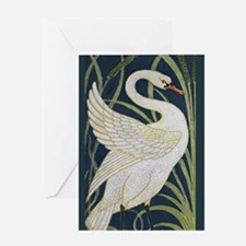 Cute Wild geese Greeting Card