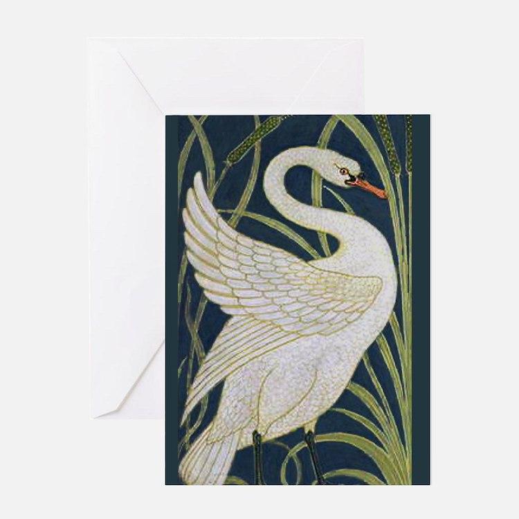 Cute Wild geese Greeting Card