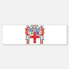 Jett Coat of Arms - Family Crest Bumper Bumper Bumper Sticker