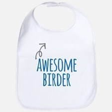 Awesome birder Baby Bib