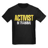 Womenmarch Kids T-shirts (Dark)