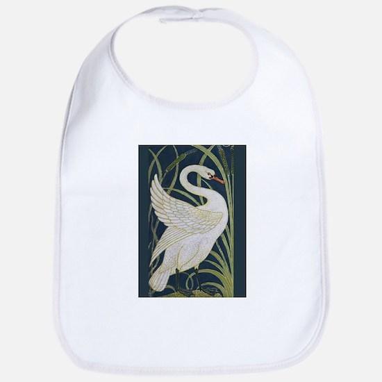 Two Swans Baby Bib