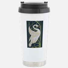 Two Swans Stainless Steel Travel Mug