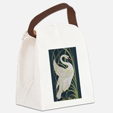 Two Swans Canvas Lunch Bag