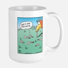 Bird Catches Worm Mug