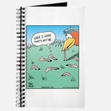 Bird Catches Worm Journal