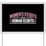 Womenmarch Yard Signs