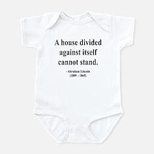 Abraham Lincoln 8 Infant Bodysuit