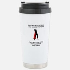 Cute Fire Travel Mug
