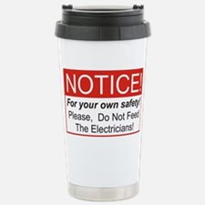 Cute Electrical engineers do it Travel Mug