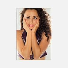 Unique Natural woman Rectangle Magnet