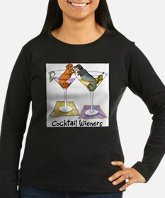 Double Cocktail Wiener Long Sleeve T-Shirt