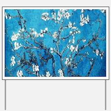 Almond Blossom Mystique, Van Gogh Yard Sign