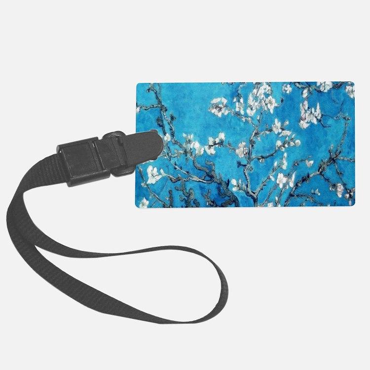 Almond Blossom Mystique, Van Gog Luggage Tag