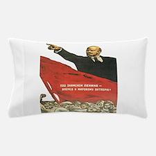 Vladimir Lenin soviet propaganda Pillow Case