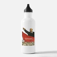Vladimir Lenin soviet Sports Water Bottle