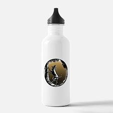 Hound Dog Art Hunting Water Bottle
